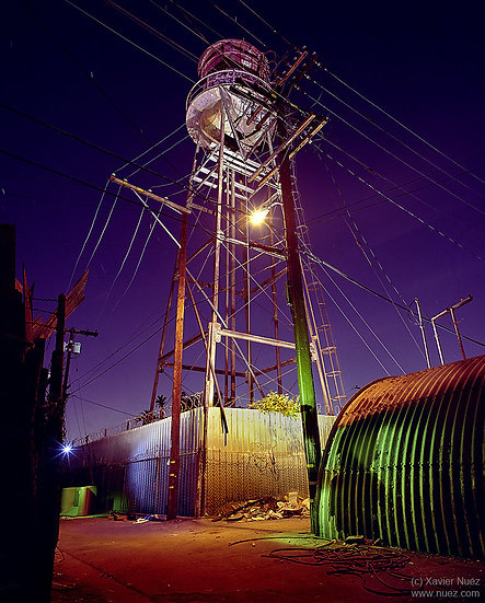 Alleys & Ruins no. 116, High Wire (2008, Compton, CA, 11pm)