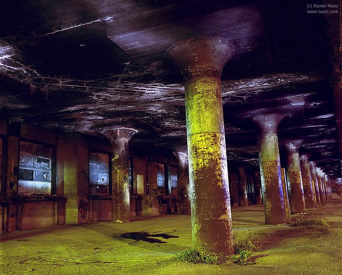 Alleys & Ruins no. 122, Pillars (2008, St Paul, MN, 12:30am)