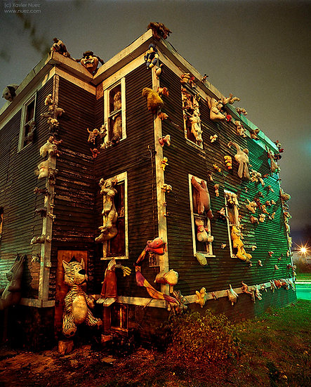 Alleys & Ruins no. 81, Heidelberg Project (2005, Detroit, MI, 2am)