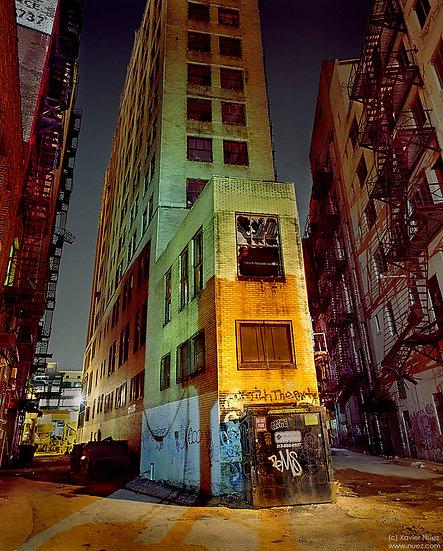 Alleys & Ruins no. 63, Smash (2004, Detroit, MI, 1:30am)