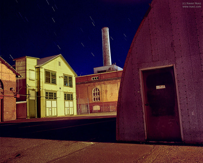 Alleys & Ruins no. 106, Stacked (2008, Mare Island, CA, 10:30pm)