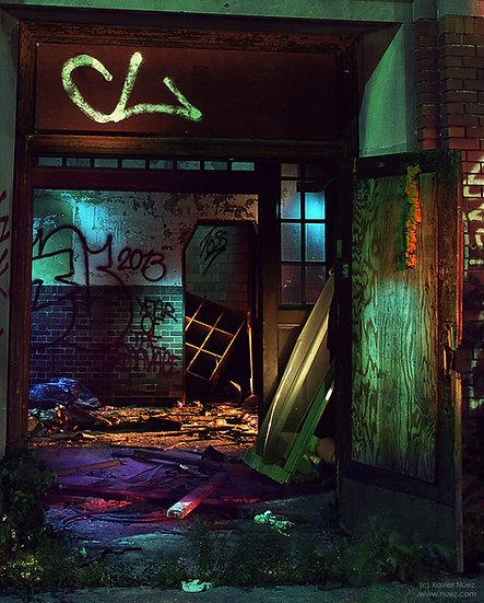 Alleys & Ruins no. 143, Reckoning (2013, Detroit, MI, 12:00am)