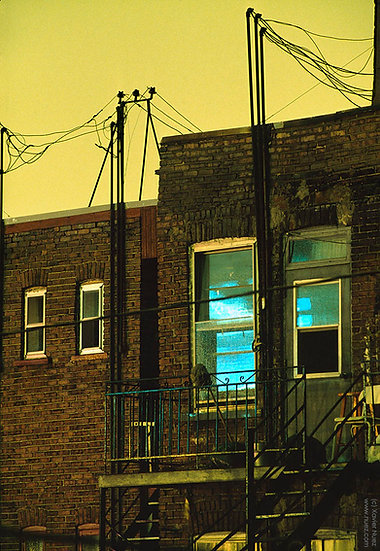 Alleys & Ruins no. 1, Electric Sky (1991, Montreal, QC, 10pm)