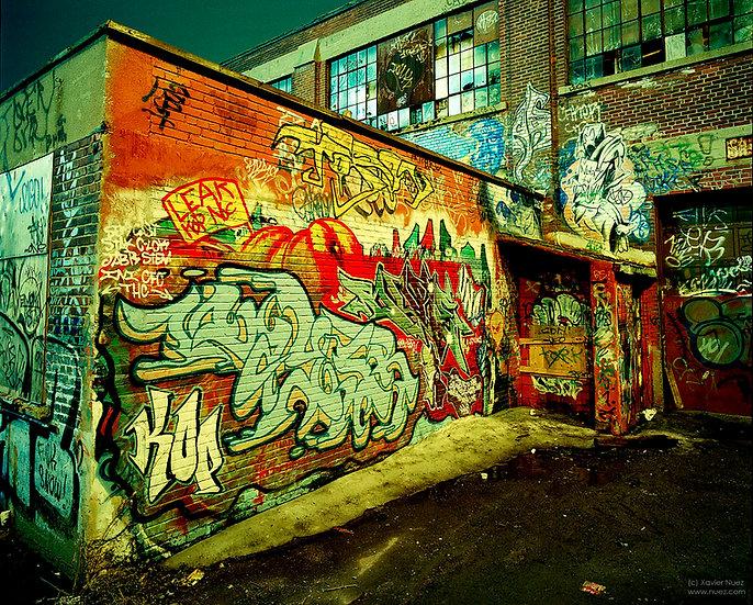 Alleys & Ruins no. 41, Nutin tu say! (1998, New York City, NY, 3am)