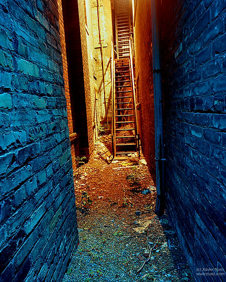 Alleys & Ruins no. 50, Deliverance (1999, Toronto, ON, 10pm)