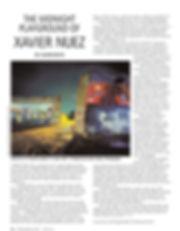 Professional artist magazine press clipping
