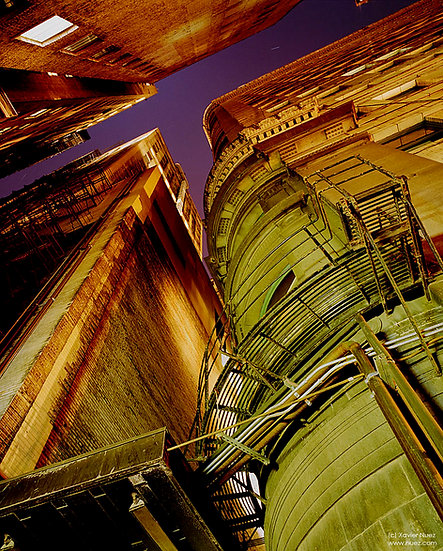 Alleys & Ruins no. 60, Canyons (2004, Chicago, IL, 10:30pm)