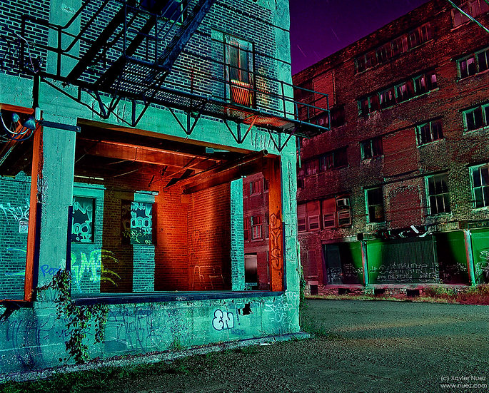 Alleys & Ruins #100, Ghost Story (2007, West Bottoms, Kansas City, MO, 1:30am)