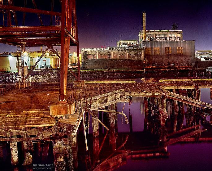 Alleys & Ruins no. 102, Goast Pier (2008, San Francisco, CA, 11:30pm)