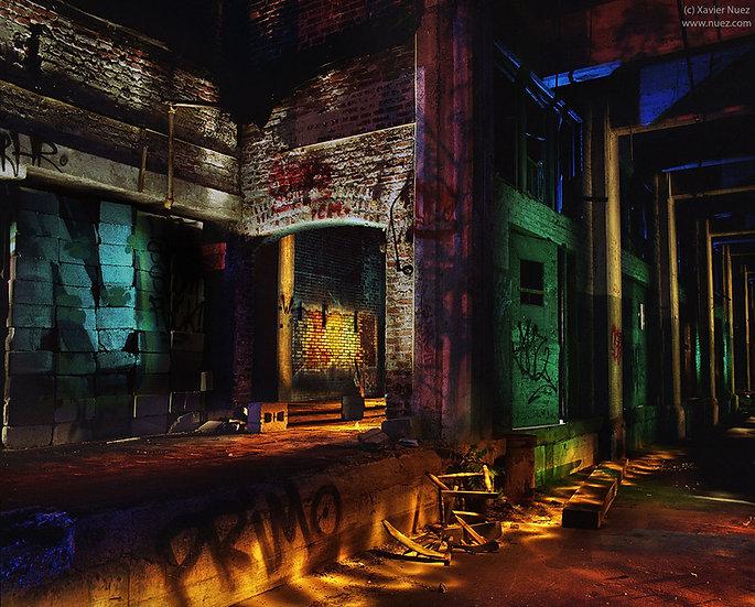 Alleys & Ruins no. 150, Primo (2016, Philadelphia, PA, 10:30pm)