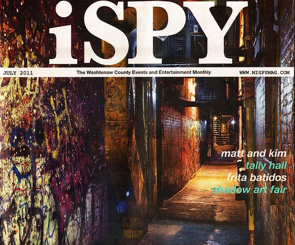 iSpy magazine cover