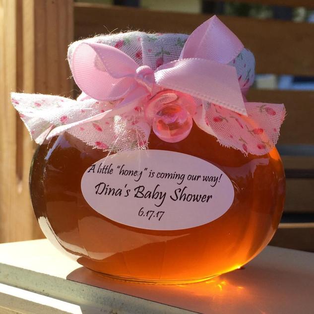 Baby Shower Theme 6 oz oval - $5.00 each