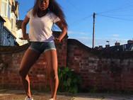 Our Talented Afro-Beats Dance Teacher!