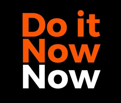 Our Director Chelcie, Joins the board for 'Do it Now Now'!
