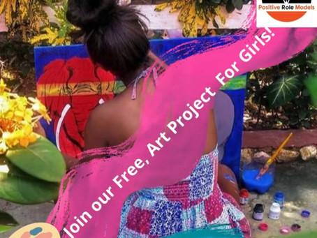 Art & Wellness Project For Girls!