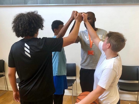 Our Coach Franck Partners with Haringey Learning Partnership, & Spreads His Basketball Magic!