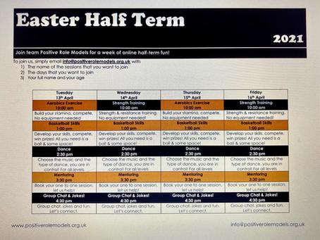 Easter, Online Half Term Fun!