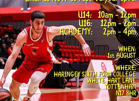Haringey Hawks Upcoming Trials. An Opportunity To Join The Best!