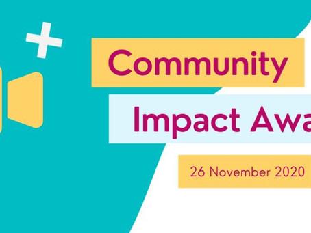 WINNER!!! 'Volunteer of the Year, 2020' - Bridge Renewal Trust's Community Impact Awards!!
