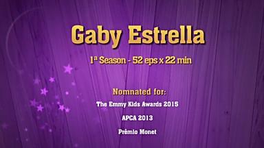 GABY ESTRELLA 1ª TEMPORADA - GLOOB - 2013