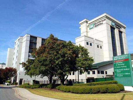 Sent 100 Notes to Huntsville Hospital (Huntsville, AL)