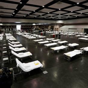 Sent 200+ Notes to Field Respite Center at Santa Clara Convention Center (Santa Clara, CA)