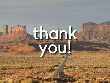 Thank you from Navajo Nation!