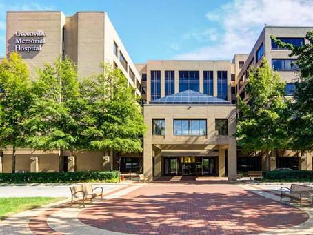 Sent 100 Notes to Greenville Memorial Hospital (Greenville, SC)