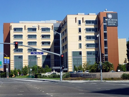 Sent 140 Notes to UC Irvine Medical Center (Orange, CA)