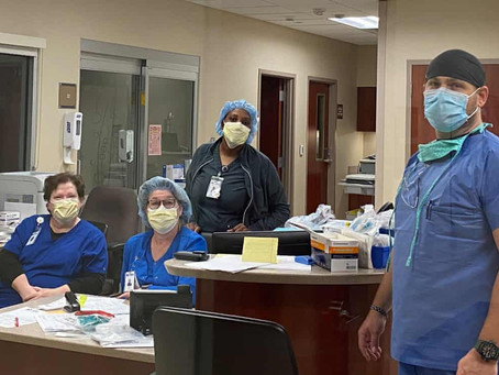 Sent 180+ Notes to St. James Parish Hospital (Lutcher, Louisiana)