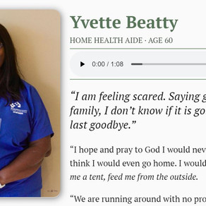 For the student who wrote to Yvette Beatty...