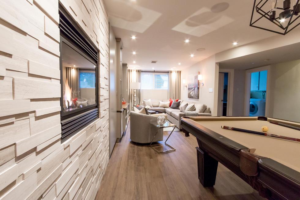 Basement Design & Renovation