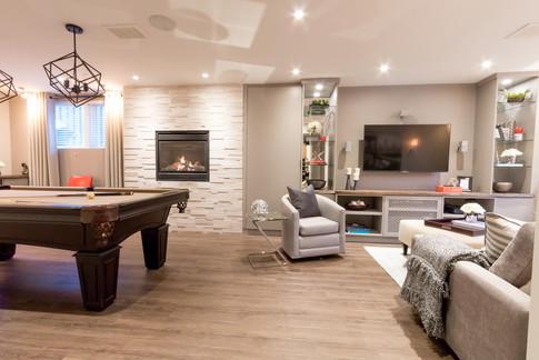Basement Renovation & Design
