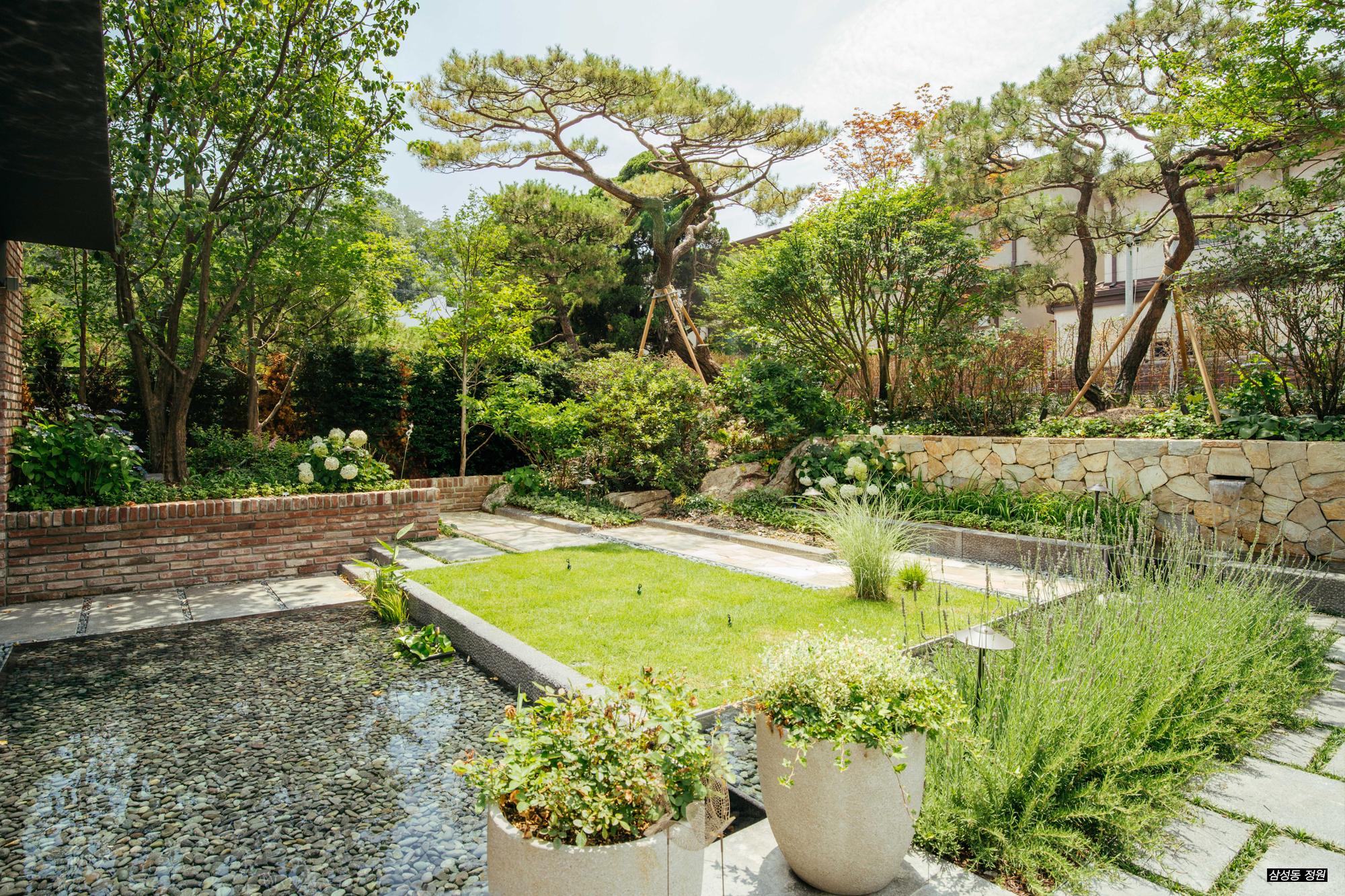 삼성동 정원