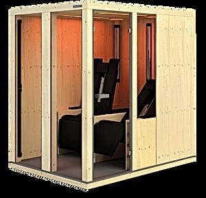 Ergo Balance Relax II Physiotherm sauna