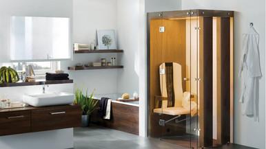 Sauna infrarouge salle de bain physiothe