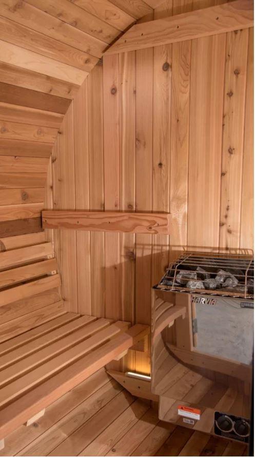 Sauna Finlandais Tonneau EauFeeling