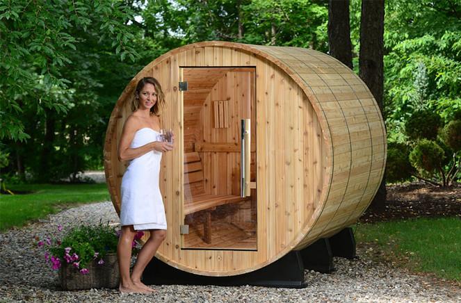 Sauna Tonneau par EauFeeling à Bourgoin Jallieu