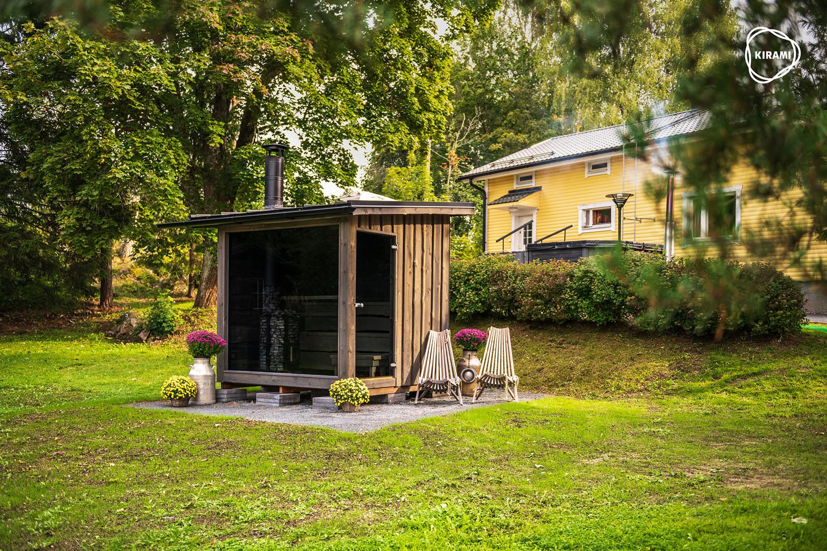 Sauna FinVision par EauFeeling