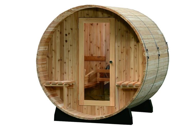 Audra sauna 4 places cedre rouge eaufeel