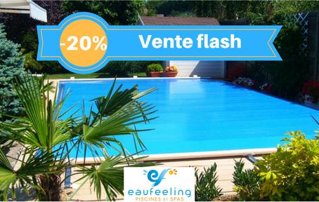 Vente Flash sur les bâches de piscine