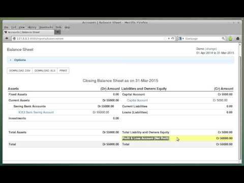 Cloud Accounting Interface