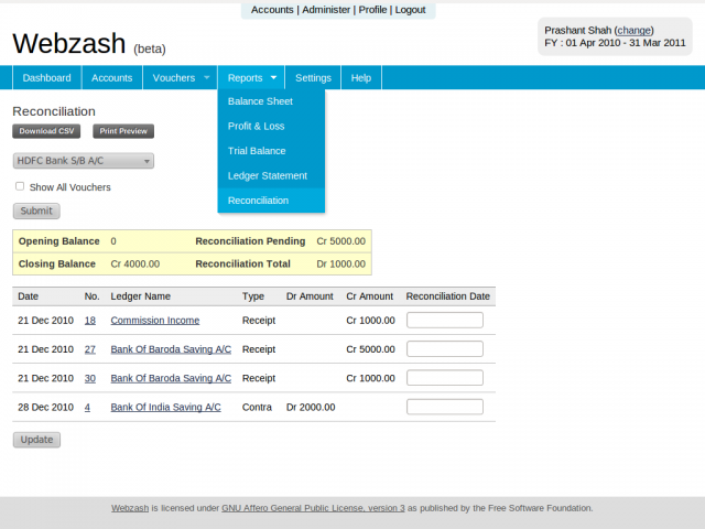 Cloud Shared Accounting System