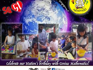Celebrate SG 51 with Genius Mathematics!