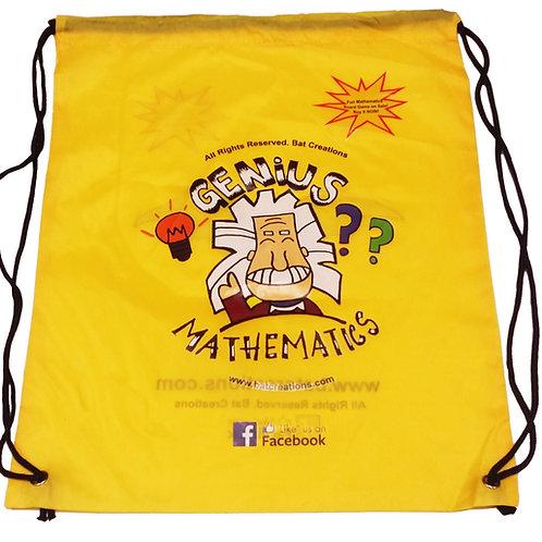 Genius Mathematics Drawstring Bag
