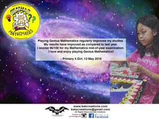 Be like Her! Get Genius Mathematics Now!