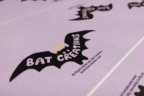 Bat Creations Stickers