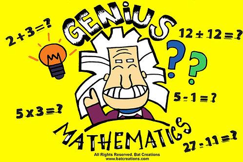 Genius Mathematics Game Board