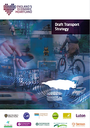 Draft Transport Strategy front cover.tif