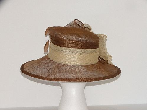 Sinamay Dress Hat brim
